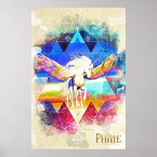 Phate-Arcynn Ahnna Jha Unicorn Poster