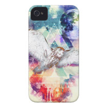 Phate-Vu Verian-The Great White Owl iPhone 4 Case