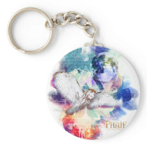 Phate-Vu Verian-The Great White Owl Keychain