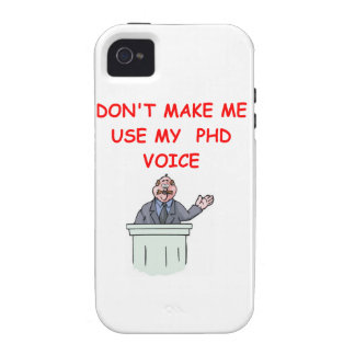 phd vibe iPhone 4 cover