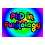 PhD en arco iris del miedo del chiste de la divers Tarjeton