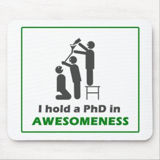PhD en Awesomeness Tapetes De Ratones
