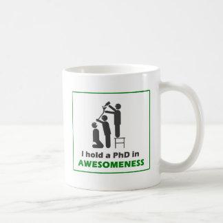 PhD en Awesomeness Taza