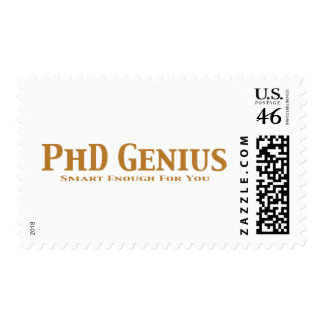 PhD Genius Gifts Postage