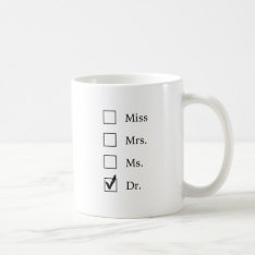Phd Gifts For Women Coffee Mug at Zazzle