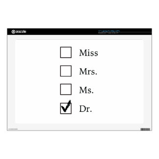 PhD gifts for women Decals For Laptops