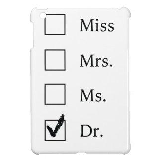 PhD gifts for women iPad Mini Case