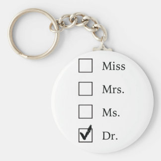 PhD gifts for women Keychain