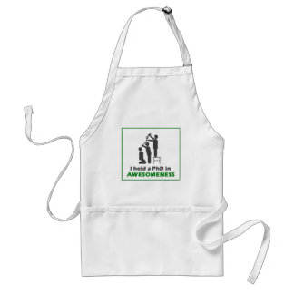 PhD in Awesomeness Adult Apron