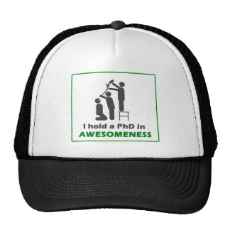 PhD in Awesomeness Trucker Hat