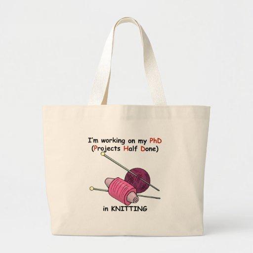 PhD in Knitting Bag