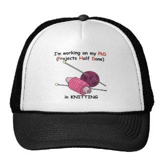PhD in Knitting Trucker Hat