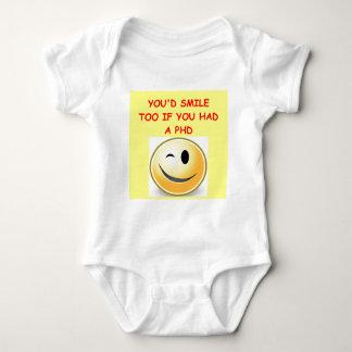 phd joke baby bodysuit