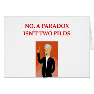phd joke card