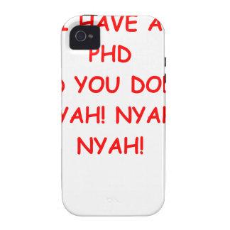PHD joke iPhone 4/4S Case