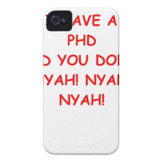 PHD joke iPhone 4 Case