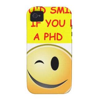 phd joke iPhone 4/4S cover