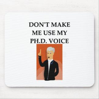 phd joke mouse pad