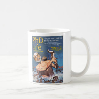 PhD Life Classic White Coffee Mug