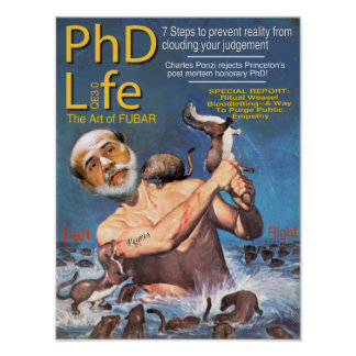 PHD Life Poster