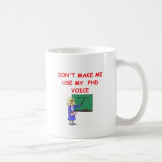 phd coffee mugs