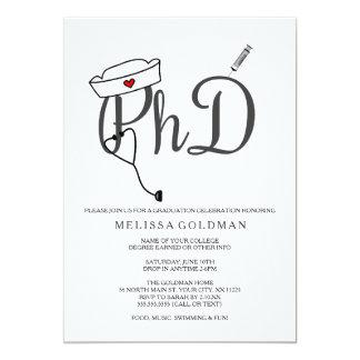 Phd Graduation Invitations Announcements Zazzle