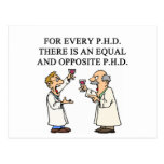 PHD proverb Post Card