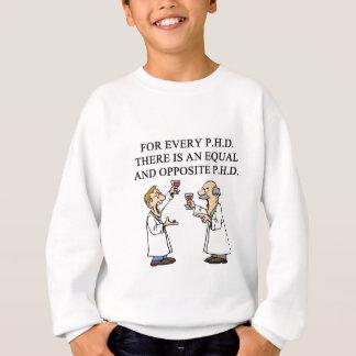 PHD proverb Sweatshirt