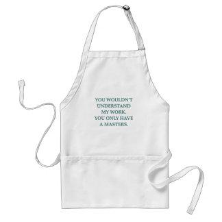 phd research apron