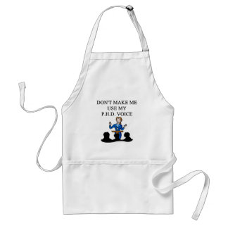 PHD voice Adult Apron