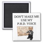PHD voice Fridge Magnet