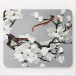 Pheasant and Pear Blossoms Mousepad