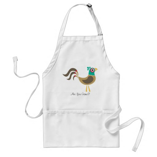 Pheasant Apron, Are You Game?