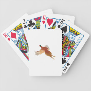 Pheasant Bicycle Playing Cards