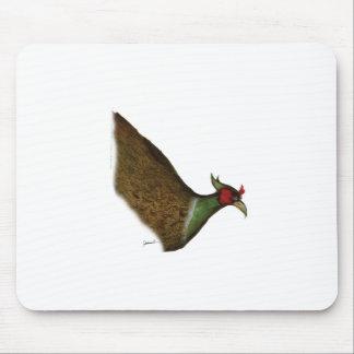 pheasant bird, tony fernandes mouse pad