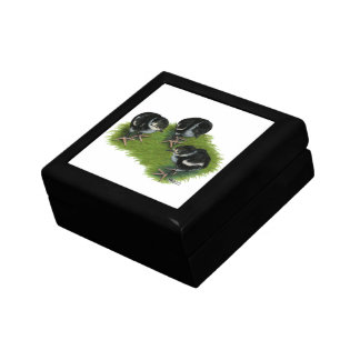 Pheasant Black Chicks Keepsake Box