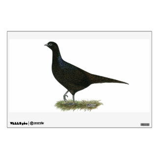 Pheasant Black Hen Wall Sticker