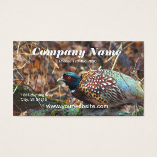 Pheasant Business Card
