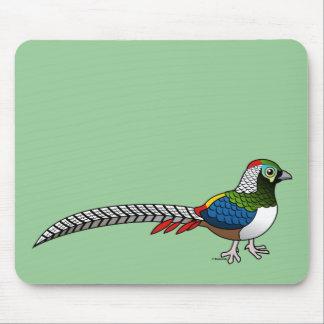Pheasant de señora Amherst Alfombrillas De Raton
