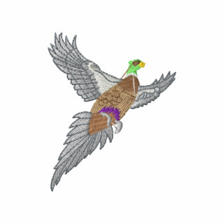 Pheasant Embroidered Shirt