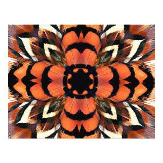 Pheasant Feather Kaleidoscope Flyer