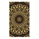 Pheasant Feathers Kaleidoscope Double-Sided Standard Business Cards (Pack Of 100)