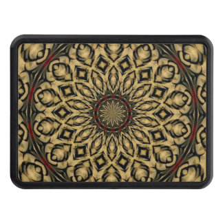 Pheasant Feathers Kaleidoscope Tow Hitch Cover