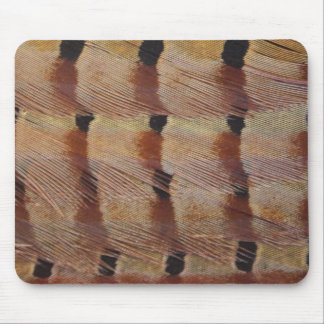 Pheasant Feathers Mouse Pad