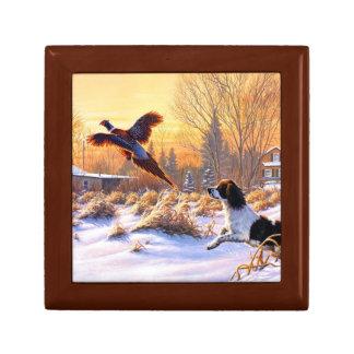 Pheasant Hunter Keepsake Boxes