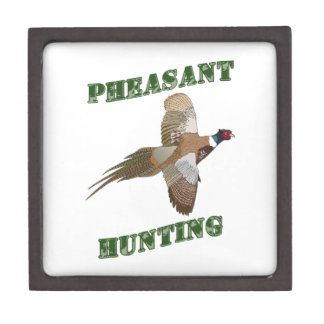 Pheasant Hunting Premium Keepsake Box