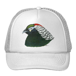 Pheasant:  Lady Amherst Rooster Trucker Hat