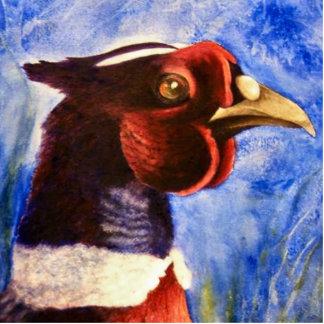 Pheasant Photo Sculpture