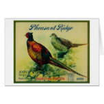 Pheasant Ridge Apple Crate Label