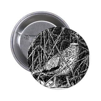 Pheasant (Rooster) Pinback Button